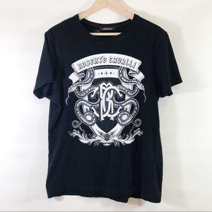 Roberto Cavalli Logo Tee Shirt